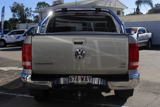 2015 Volkswagen Amarok 2H MY15 TDI420 4Motion Perm Highline Silver 8 Speed Automatic Utility