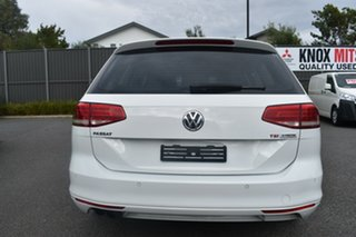 2016 Volkswagen Passat 3C (B8) MY16 132TSI DSG White 7 Speed Sports Automatic Dual Clutch Wagon