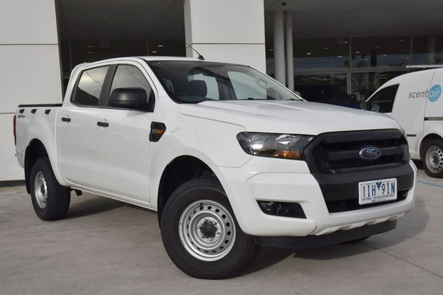 Used Ford Ranger PX MkII XL Hi-Rider Oakleigh, 2016 Ford Ranger PX MkII XL Hi-Rider White 6 Speed Sports Automatic Utility