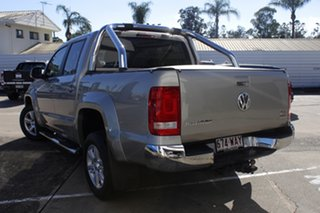 2015 Volkswagen Amarok 2H MY15 TDI420 4Motion Perm Highline Silver 8 Speed Automatic Utility.