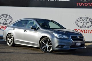 2015 Subaru Liberty MY14 2.5I Silver Continuous Variable Sedan.