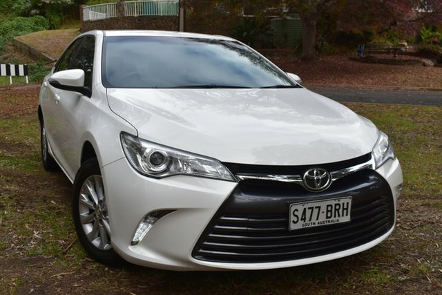Used Toyota Camry ASV50R Altise St Marys, 2017 Toyota Camry ASV50R Altise White 6 Speed Sports Automatic Sedan