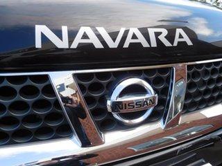 2010 Nissan Navara D22 MY2010 ST-R Black 5 Speed Manual Utility