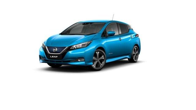 New Nissan Leaf ZE1 e+ Moorooka, 2021 Nissan Leaf ZE1 e+ Vivid Blue 1 Speed Reduction Gear Hatchback