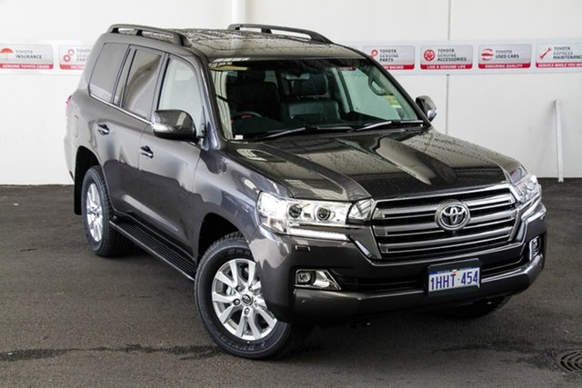Pre-Owned Toyota Landcruiser VDJ200R VX Myaree, 2021 Toyota Landcruiser VDJ200R VX Graphite 6 Speed Sports Automatic Wagon