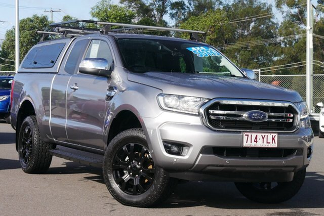 Used Ford Ranger PX MkIII 2019.00MY XLT Hillcrest, 2018 Ford Ranger PX MkIII 2019.00MY XLT Grey 10 Speed Sports Automatic Utility