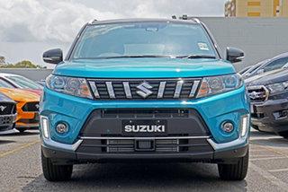 2021 Suzuki Vitara LY Series II Turbo 2WD Blue & Black 6 Speed Sports Automatic Wagon.