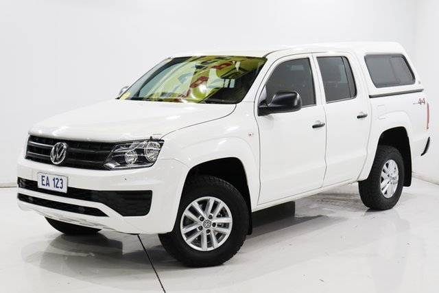 Used Volkswagen Amarok 2H MY17 TDI420 4MOTION Perm Core Brooklyn, 2017 Volkswagen Amarok 2H MY17 TDI420 4MOTION Perm Core White 8 Speed Automatic Utility