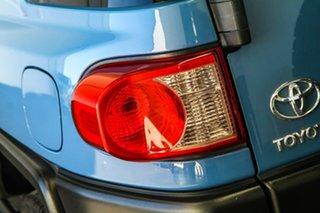 2013 Toyota FJ Cruiser GSJ15R MY14 Military Blue 5 Speed Automatic Wagon