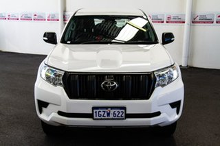 2018 Toyota Landcruiser Prado GDJ150R MY17 GX (4x4) Glacier White 6 Speed Automatic Wagon.