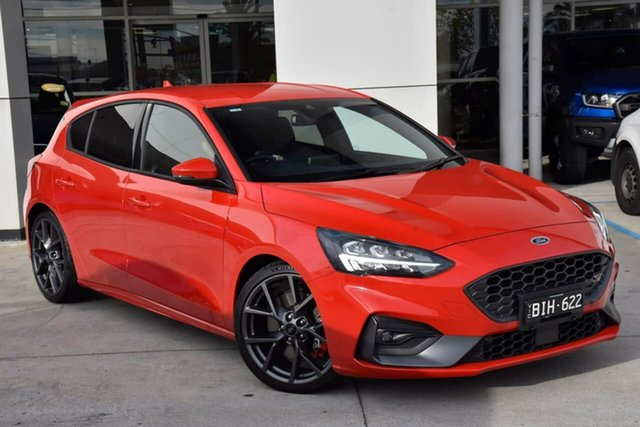 Used Ford Focus SA 2020.25MY ST Oakleigh, 2020 Ford Focus SA 2020.25MY ST Red 7 Speed Automatic Hatchback