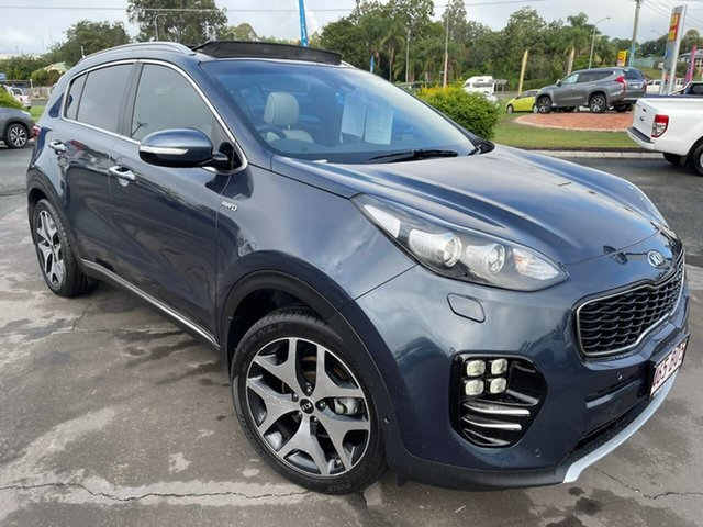 Used Kia Sportage QL MY16 Platinum AWD Gympie, 2016 Kia Sportage QL MY16 Platinum AWD 6 Speed Sports Automatic Wagon