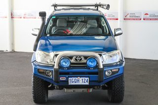 2011 Toyota Hilux GGN25R MY11 Upgrade SR5 (4x4) Blue Metallic 5 Speed Automatic Dual Cab Pick-up.