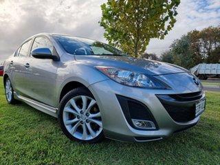 2010 Mazda 3 BL10L1 MY10 SP25 Activematic Aluminium Sp25 Luxury/black L 5 Speed Sports Automatic.