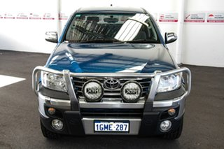 2012 Toyota Hilux GGN25R MY12 SR5 (4x4) Tidal Blue 5 Speed Automatic Dual Cab Pick-up.