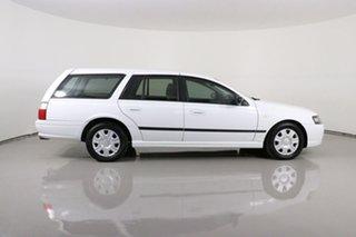 2008 Ford Falcon BF MkII Futura White 4 Speed Auto Seq Sportshift Wagon