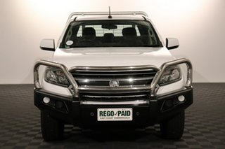 2016 Holden Colorado RG MY17 LS Crew Cab White 6 speed Automatic Cab Chassis.