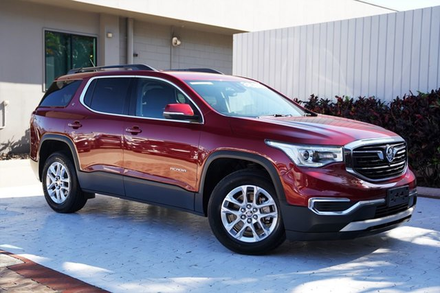 Used Holden Acadia AC MY19 LT 2WD Cairns, 2019 Holden Acadia AC MY19 LT 2WD Red 9 Speed Sports Automatic Wagon