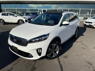 2019 Kia Sorento UM MY20 GT-Line White 8 Speed Sports Automatic Wagon.