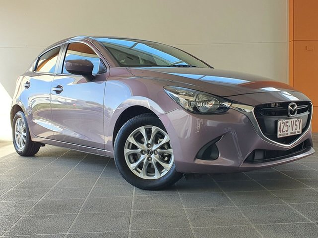 Used Mazda 2 DJ2HAA Maxx SKYACTIV-Drive Brendale, 2015 Mazda 2 DJ2HAA Maxx SKYACTIV-Drive Pink 6 Speed Sports Automatic Hatchback