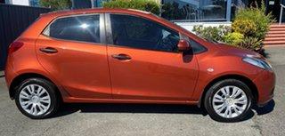 2009 Mazda 2 DE10Y1 Neo Orange 5 Speed Manual Hatchback.