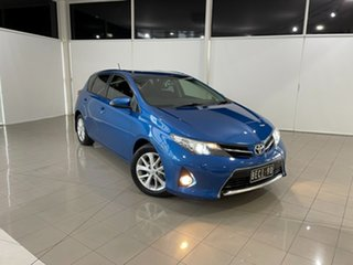 2013 Toyota Corolla ZRE182R Ascent Sport Blue 6 Speed Manual Hatchback.