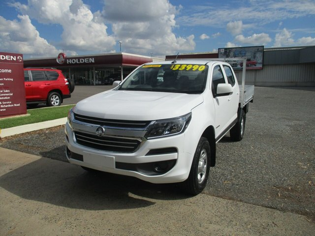 Used Holden Colorado RG MY17 LS Pickup Crew Cab 4x2 North Rockhampton, 2017 Holden Colorado RG MY17 LS Pickup Crew Cab 4x2 White 6 Speed Sports Automatic Utility