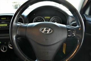2008 Hyundai Accent MC MY07 SLX Red 5 Speed Manual Hatchback