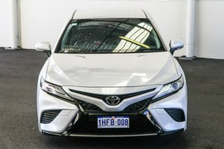 2018 Toyota Camry GSV70R MY19 SX V6 Frosted White 8 Speed Automatic Sedan.