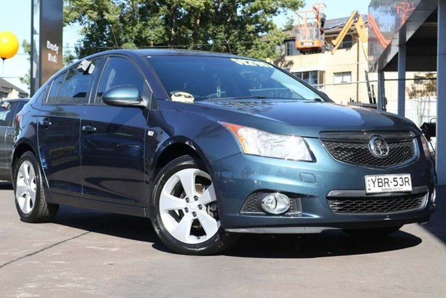 Used Holden Cruze JH Series II MY14 Equipe Waitara, 2014 Holden Cruze JH Series II MY14 Equipe Green 6 Speed Sports Automatic Hatchback
