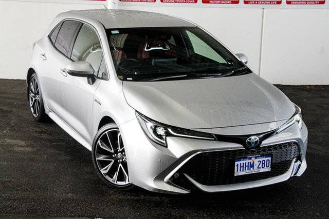 Pre-Owned Toyota Corolla ZWE211R ZR E-CVT Hybrid Rockingham, 2020 Toyota Corolla ZWE211R ZR E-CVT Hybrid Silver Pearl 10 Speed Constant Variable Hatchback Hybrid