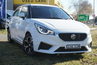 2020 MG MG3 SZP1 MY20 Excite White 4 Speed Automatic Hatchback.