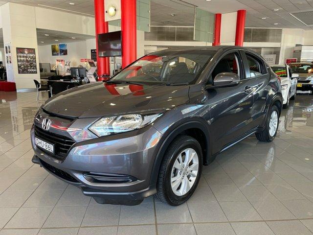 Used Honda HR-V MY16 VTi Artarmon, 2016 Honda HR-V MY16 VTi Grey 1 Speed Constant Variable Hatchback