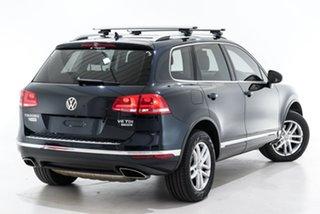 2015 Volkswagen Touareg 7P MY16 150TDI Tiptronic 4MOTION Element Blue 8 Speed Sports Automatic Wagon.