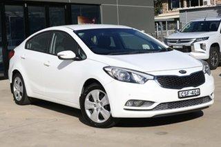 2013 Kia Cerato YD MY14 S White 6 Speed Sports Automatic Sedan.