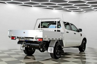 2015 Ford Ranger PX MkII XL 2.2 (4x4) White 6 Speed Automatic Crew Cab Chassis