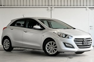 2016 Hyundai i30 GD4 Series II MY17 Active Silver 6 Speed Manual Hatchback.