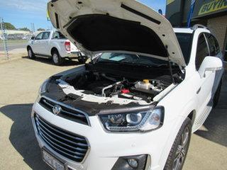 2016 Holden Captiva CG LTZ White 6 Speed Automatic Wagon.