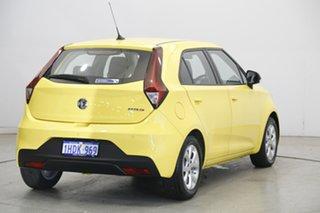 2020 MG MG3 SZP1 MY20 Core Tudor Yellow 4 Speed Automatic Hatchback