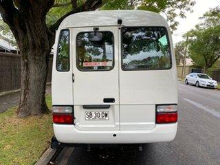 2010 Toyota Coaster White Automatic Bus