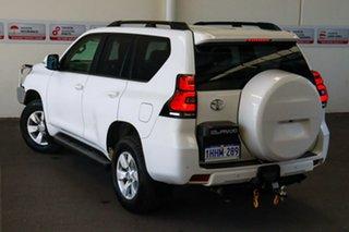 2017 Toyota Landcruiser Prado GDJ150R GX Glacier White 6 Speed Sports Automatic Wagon