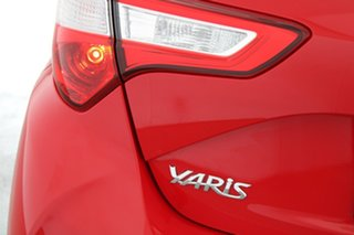 2018 Toyota Yaris NCP130R Ascent Red 5 Speed Manual Hatchback