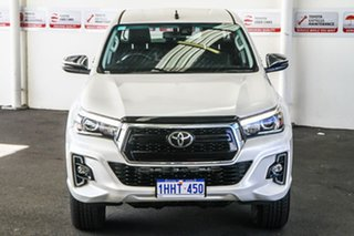 2020 Toyota Hilux GUN126R SR5 Double Cab Crystal Pearl 6 Speed Sports Automatic Cab Chassis.