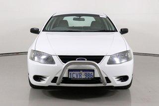 2008 Ford Falcon BF MkII Futura White 4 Speed Auto Seq Sportshift Wagon.
