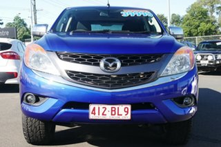 2015 Mazda BT-50 UP0YF1 XTR Blue 6 Speed Manual Utility.