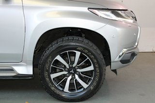 2016 Mitsubishi Pajero Sport QE MY16 Exceed Sterling Silver 8 Speed Sports Automatic Wagon