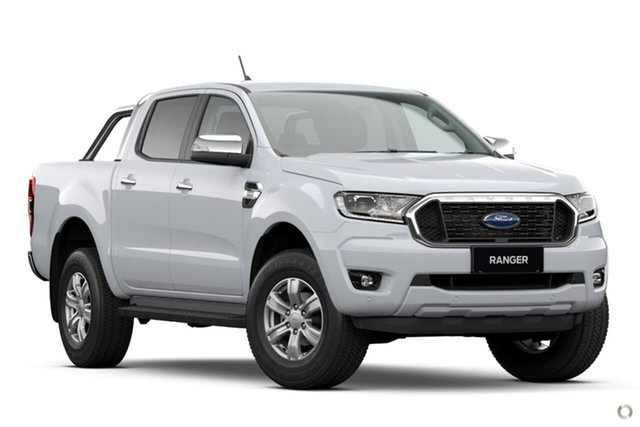 New Ford Ranger PX MkIII 2021.25MY XLT Hi-Rider Oakleigh, 2021 Ford Ranger PX MkIII 2021.25MY XLT Hi-Rider White 10 Speed Sports Automatic Double Cab Pick Up