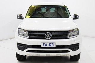 2017 Volkswagen Amarok 2H MY17 TDI420 4MOTION Perm Core White 8 Speed Automatic Utility.