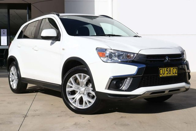 Used Mitsubishi ASX XC MY19 ES 2WD Tuggerah, 2019 Mitsubishi ASX XC MY19 ES 2WD White 1 Speed Constant Variable Wagon