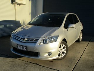 2012 Toyota Corolla ZRE152R MY11 Ascent Silver 6 Speed Manual Hatchback.